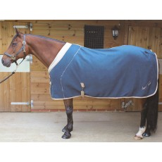 7/'0/'/' Mark Todd DELUXE HALF MESH Breathable Wicking Cooler Rug Navy 5/'6/'/'