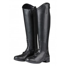 Saxon Syntovia Tall Field Boots (Black)