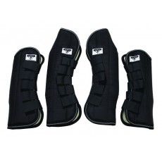 Saxon Travel Boots (Black)