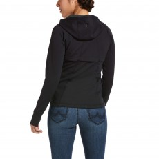 Ariat Women's Attain Full Zip Hoodie (Black)