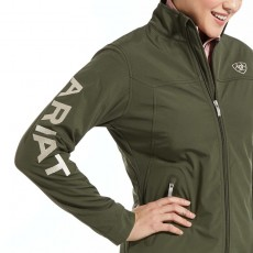Ariat Women's New Team Softshell Jacket (Prairie)