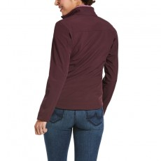 Ariat Women's New Team Softshell Jacket (Winetasting)