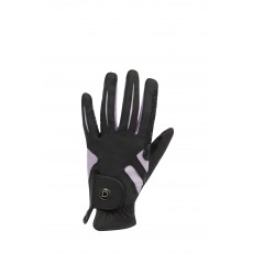 Dublin Adult's Cool-It Gel Riding Glove (Black/Pink)