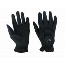 Dublin Adults Dressage Riding Gloves (Black)