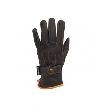 Dublin Adult's Leather Thinsulate Winter Riding Gloves (Brown)