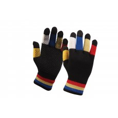Dublin Adult's Magic Pimple Grip Riding Gloves (Black Multi)