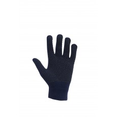 Dublin Adult's Magic Pimple Grip Riding Gloves (Navy)