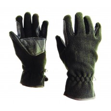 Dublin Adult's Polar Fleece Riding Gloves (Black)