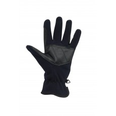 Dublin Adult's Polar Fleece Riding Gloves (Navy)