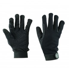 Dublin Adult's Thinsulate Winter Track Riding Gloves (Black)
