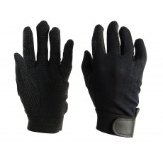 Dublin Adult's Track Riding Gloves (Black)