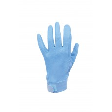 Dublin Adult's Track Riding Gloves (Blue)