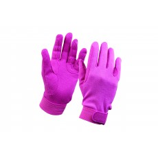 Dublin Adult's Track Riding Gloves (Pink)