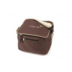 Dublin Imperial Hat Bag (Chocolate/Cream)