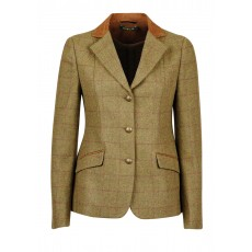 Dublin Childs Albany Tweed Suede Collar Tailored Jacket (Brown)