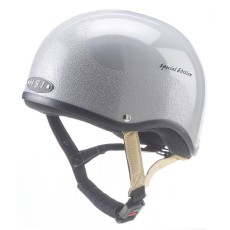Gatehouse (Ex Display) HS1 Jockey Skull Hat (Silver)