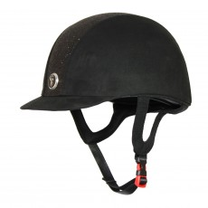 Gatehouse (Ex Display) Jeunesse Riding Hat (Black Glitter)