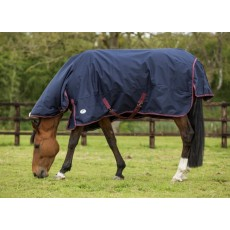 JHL (Clearance) Heavyweight Combo Turnout Rug (Navy & Burgundy)