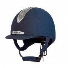 Champion (Ex Display) Evolution Puissance Riding Hat (Navy) (Size 55cm)