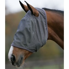 Mark Todd Fly Mask (Grey)