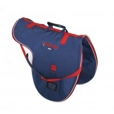 Roma Cruise Saddle Bag (Navy/Red/White)