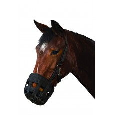 Roma Grazing Muzzle (Black)