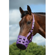 Roma Grazing Muzzle (Purple)