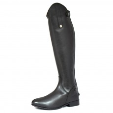 Mark Todd (Clearance) Adults Long Leather Riding Boots (Black)