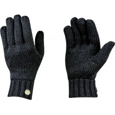 Dublin Adults Black Roxanne Gloves (Black Lurex)