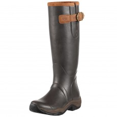 Ariat Women's Storm Stopper Wellington Boots (Brown)