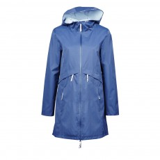 Dublin Ladies Ava Waterproof Trench Coat (Sargasso Sea)