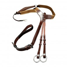 Mark Todd Performance Elastic Breastplate (Havana)