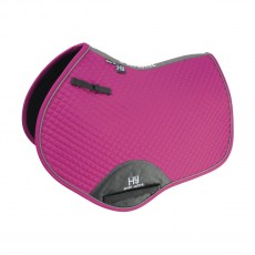 Hy Sport Active Close Contact Saddle Pad (Cobalt Pink)