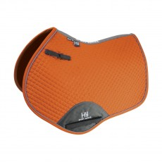 Hy Sport Active Close Contact Saddle Pad (Terracotta Orange)
