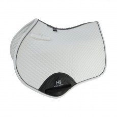 Hy Sport Active Close Contact Saddle Pad (White)
