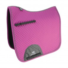 Hy Sport Active Dressage Saddle Pad (Cobalt Pink)