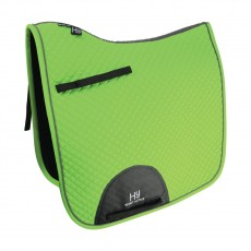 Hy Sport Active Dressage Saddle Pad (Lime Green)