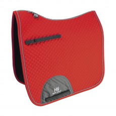 Hy Sport Active Dressage Saddle Pad (Rosette Red)