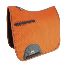Hy Sport Active Dressage Saddle Pad (Terracotta Orange)