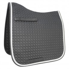 HyWITHER Double Braid Dressage Pad (Black)