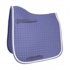 HyWITHER Double Braid Dressage Pad (Navy)