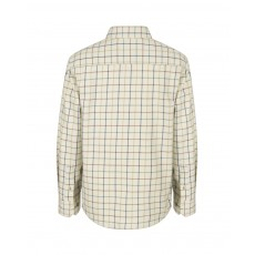 Hoggs of Fife Junior Ambassador Premier Tattersall Shirt (Ivory/Navy)