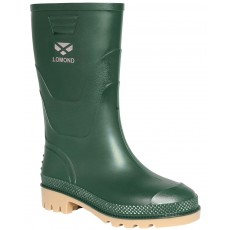 Hoggs of Fife Junior Lomond Wellington Boots (Green)