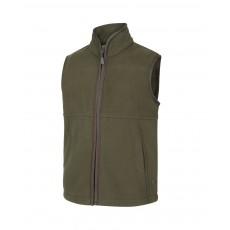 Hoggs of Fife Junior Woodhall Fleece Gilet (Green)