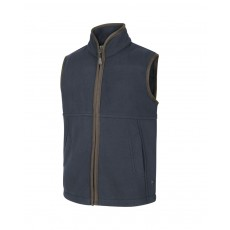 Hoggs of Fife Junior Woodhall Fleece Gilet (Navy)