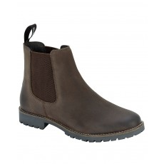 Hoggs of Fife Ladies Jodhpur Dealer Boot (Brown)