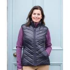 Hoggs of Fife Ladies Millie Soft Padded Gilet (Dark Navy)
