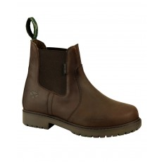 Hoggs of Fife Ladies Northumberland Dealer Boot (Dark Brown)