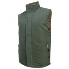 Hoggs of Fife Men's Breezer II Bodywarmer (Olive/Mocha)