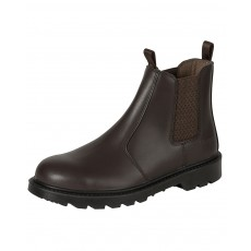 Hoggs of Fife Men's Classic D3 Dealer Safety Boots (Dark Brown)